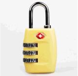 Tsa 3 Digit-rückstellbarer Kombinationsarbeitsweg-Gepäck-Koffer-Verschluss