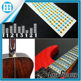 PVC透過アルファベットのギターのFretboardのノートのステッカーのステッカー