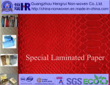 Leather gravado Pattern Paper/Art Paper para Packaging com Fine Pattern Designs (no. A8G013)