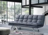 Самомоднейшая складывая кровать софы ткани, живущий мебель комнаты