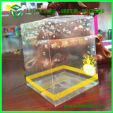 Kundenspezifisches Packaging Boxes mit Logo Clear Plastic Transparent Gift Container Box
