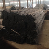 Conduttura d'acciaio temprata nera rotonda di superficie galvanizzata