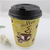 Biodegradierbares Paper Disposable Coffee Cup mit Cover