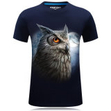 면 t-셔츠 /T 싼 셔츠 또는 티 셔츠를 인쇄하는 형식 관례 3D
