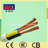 3 Kern-PVC Isolierleistung-Kabel-flexibler kupferner Draht