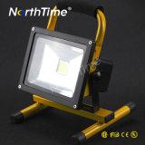 Nueva luz de inundación recargable del Portable 10W LED