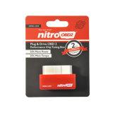 De nitro OBD2 OBD2 Stemmende Doos van de Spaander OBD2/Eco voorziet en vermindert lager Emissie voor van de Benzine de Diesel Auto's van de Benzine van brandstof en