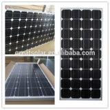 Alto Performance 130W Monocrystalline Solar Panel con TUV, iso, CE