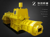 완전히 Automatic Brick Factory와 Adobe Clay Brick Making Machine