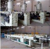 Ligne en plastique en plastique de production à la machine d'extrudeuse d'extrusion de pipe de PE de PPR à grande vitesse pp