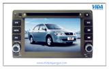 De dubbele Speler van de Auto DVD van DIN voor Visie Geely met GPS Navigatie