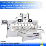 Маршрутизатор Китай CNC гравировального станка оси Xfl-2813-8 4