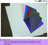 Hoja de PVC brillante de colores para cubierta de encuadernación