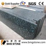 Smaragdperlen-Granit, Smaragdgrün-Granit-Küchecountertop-Badezimmer-Eitelkeits-Oberseite