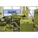 Chaîne de production de granulation du remplissage CaCO3+PP/PE de vis simple élevée de malaxeur