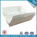 주문을 받아서 만들어진 색깔 종이 식품 포장 상자 (GJ-box139)