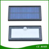 Lumière extérieure solaire sèche de mur de DEL avec le mode multi de détecteur