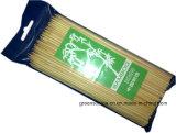 BBQは/Bambooの焼串を串刺しにする