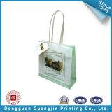 Saco de portador de luxo branco para compras (GJ-Bag063)