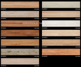azulejo de suelo de madera del grano de la inyección de tinta 3D 180*1080 Rd108b033