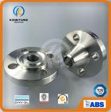 La bride de collet de soudure d'acier inoxydable de la norme ANSI B16.5 a modifié la bride pour la marine (KT0338)