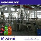Equipo de llenado de bebidas de gas en botella de tríada