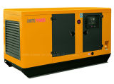 96kw 120kVA Yuchai schalldichte Dieselkraftstoff-elektrische Generatoren
