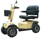 4 vespa eléctrica Handicapped del asiento doble de las ruedas 800W
