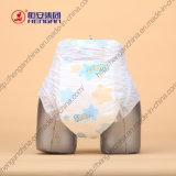 Bonne absorptivité et couche-culotte jetable molle de bébé