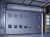 Hot Aluminium Stainless Steel Isolado Controle Remoto Metal Security Rolling Shutter Door (HF-J312)
