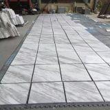 Mattonelle di marmo bianche piacevoli di Volakas per le mattonelle di pavimentazione/della pavimentazione/stanza da bagno del travertino/mattonelle della parete