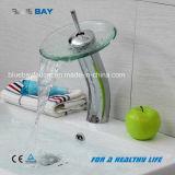 Mélangeur en verre de bassin de traitement simple de salle de bains