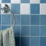 Azulejo de suelo de cerámica de la pared del cuarto de baño de la decoración pura del color de la manera
