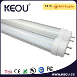 4 tubo Saso del ángulo T8 LED del pie 150degree