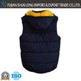 Esterno di inverno degli uomini Usura imbottito la maglia con staccabile Cap