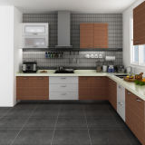 Oppein Proyecto melamina en forma de L del gabinete de cocina (OP14-M05)