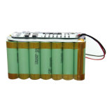 Supercondensador recargable 25.9V 18650 Li-Ion Battery Pack