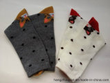 Chaussettes long de Cartoon Pattern Cotton Winter de Madame (PTLS16001)