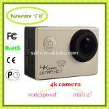 4k 24fps HD 16mega 화소 2.0ltps는 극단적인 스포츠 사진기 활동 캠을 방수 처리한다