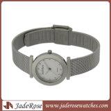 특별한 디자인 합금 방수 여자 시계, 메시 결박 손목 시계