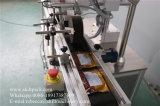 Aufkleber-Spitzenseiten-Etikettiermaschine für flache Plastikflaschen
