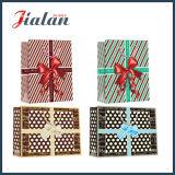 El verde simple de diversas tallas impreso modifica el bolso de papel barato del regalo para requisitos particulares
