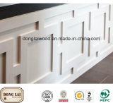 Hölzernes Panel-Wand-Holz, das für Hauptdekoration formt