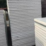 Fácil instalar o painel de aço de /Roof da parede de sanduíche de lãs de rocha da cor para a casa simples do armazém