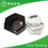 Rectángulo de papel de empaquetado de la impresión del regalo de lujo de encargo del diseño