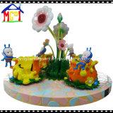 Het zachte Stuk speelgoed van de Kinderen van de Apparatuur van de Speelplaats van de Trein van het Spel Vastgestelde Binnen