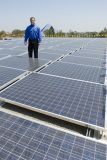 painel solar Photovoltaic elevado de eficiência 350wp da pilha de categoria A