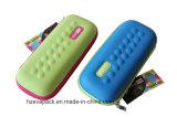 Caja de lápiz portable de EVA del shell del OEM de la fábrica de China del bolso duro del lápiz