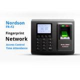 Biometrische Zugriffssteuerung des Fingerabdruck-Fr-F2 u. Zeit-Zeiterfassungsstation