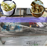 La Thaïlande a roulé la machine frite de crême glacée